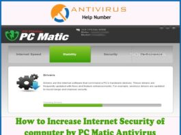 How to Increase Internet Security of computer by PC Matic Antivirus