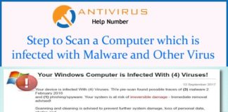 Step to Scan a Computer which is infected with Malware and Other Virus