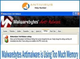 Malwarebytes Antimalware is Using Too Much Memory