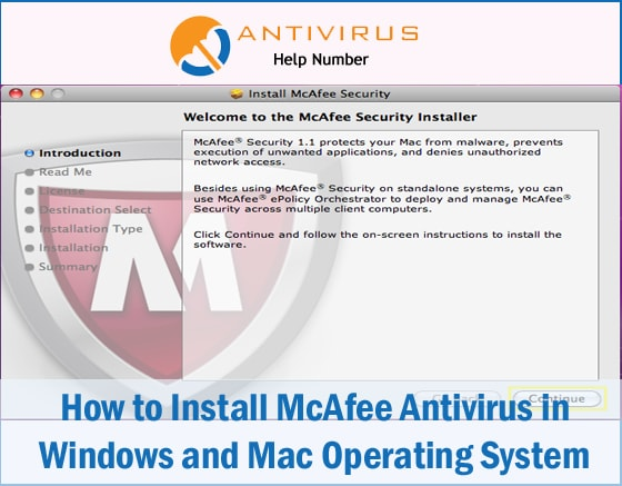 How to Install McAfee Antivirus in Windows and Mac Operating System