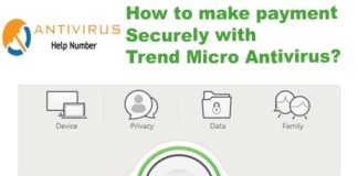 How to make payment Securely with Trend Micro Antivirus?