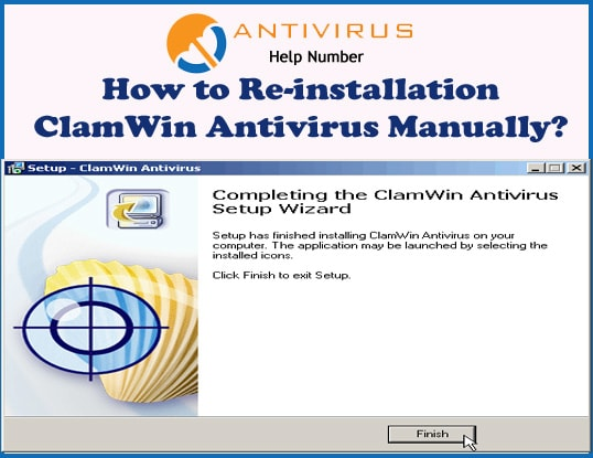 How to Re-installation ClamWin Antivirus Manually?