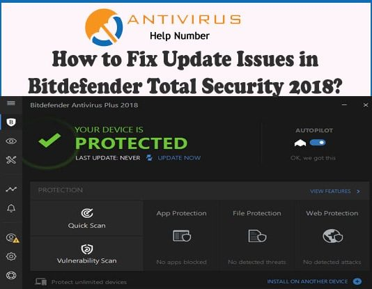 How to Fix Update Issues in Bitdefender Total Security 2018?